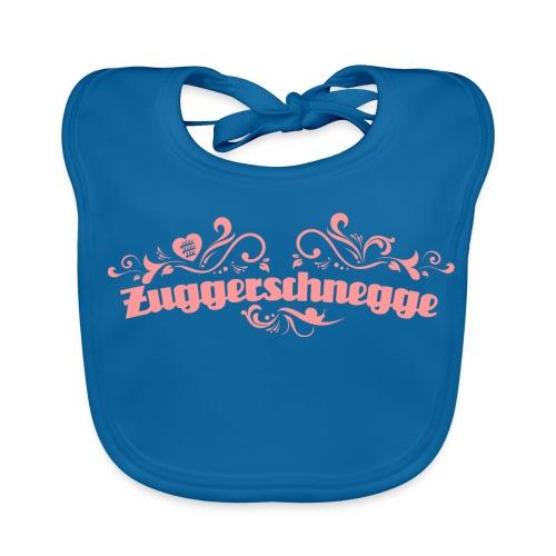 Zuggerschnegge - Print/rosa - Lätzchen - Baby Bio-Lätzchen