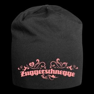 Zuggerschnegge - Print/rosa - Beanie - Jersey-Beanie