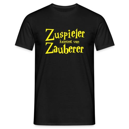 VolleyballFREAK Zuspieler Zauberer - Männer T-Shirt