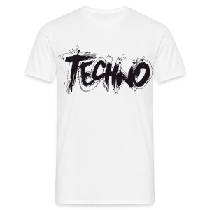 Techno rustical - Männer T-Shirt