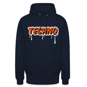 Techno Orange  Hoodie - Unisex Hoodie