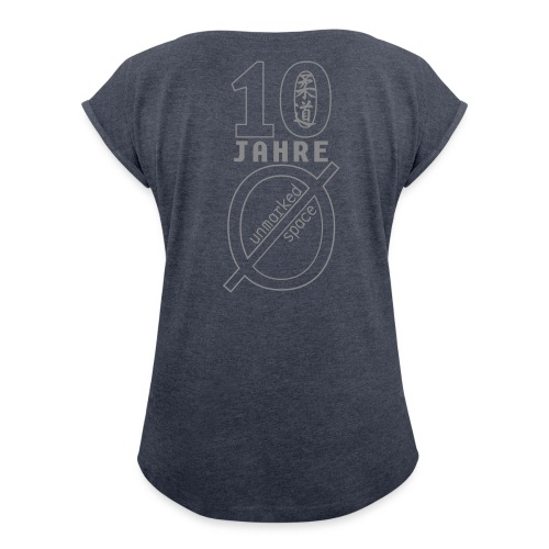 Jubi - Frauen T-Shirt mit gerollten Ärmeln
