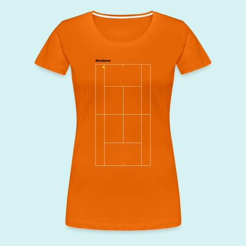 4tealove - Frauen Premium T-Shirt