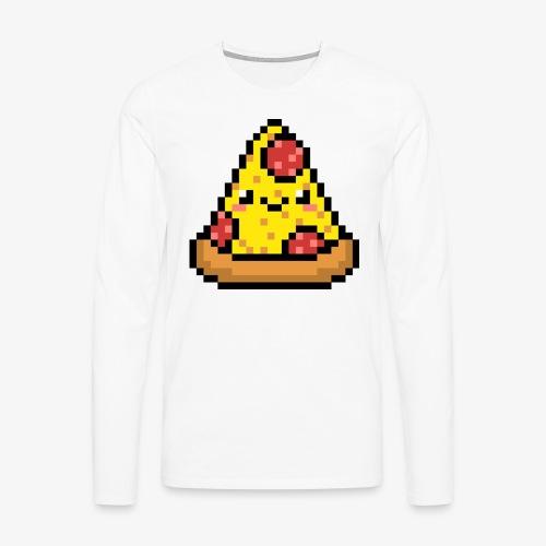 Pizza Langarmshirt men - Männer Premium Langarmshirt