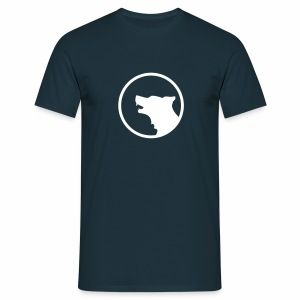 Wolf Silhouette - Men's T-Shirt
