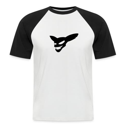 Evil Grin (black) - Men's Baseball T-Shirt
