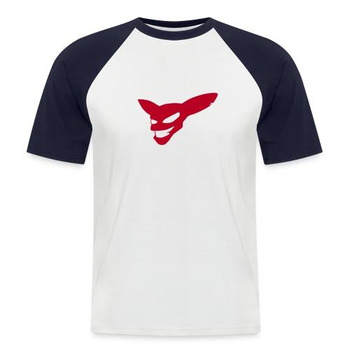 Evil Grin (red) - Men's Baseball T-Shirt
