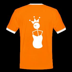 Winky King Zakloopshirt - Mannen contrastshirt