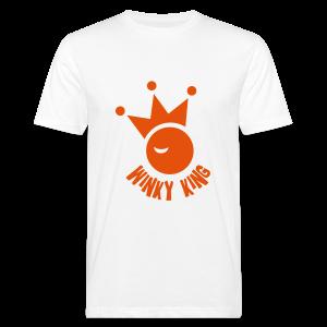 Winky King Bio Zakloopshirt - Mannen Bio-T-shirt