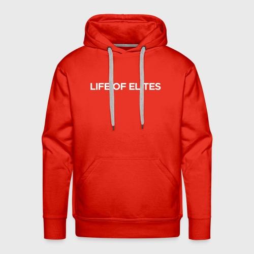 Elites Hoodie | Red - Men's Premium Hoodie