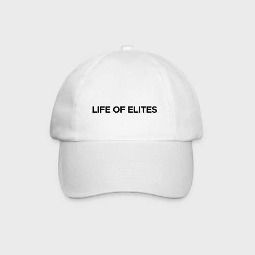 Elites hat | White - Baseball Cap