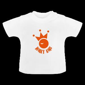 Winky King Baby T-Shirt - Baby T-shirt