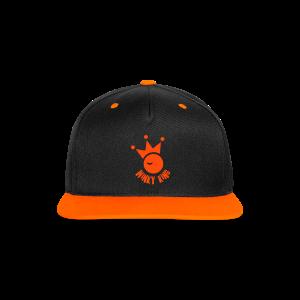 Winky King Contrast Snapback Cap - Contrast snapback cap