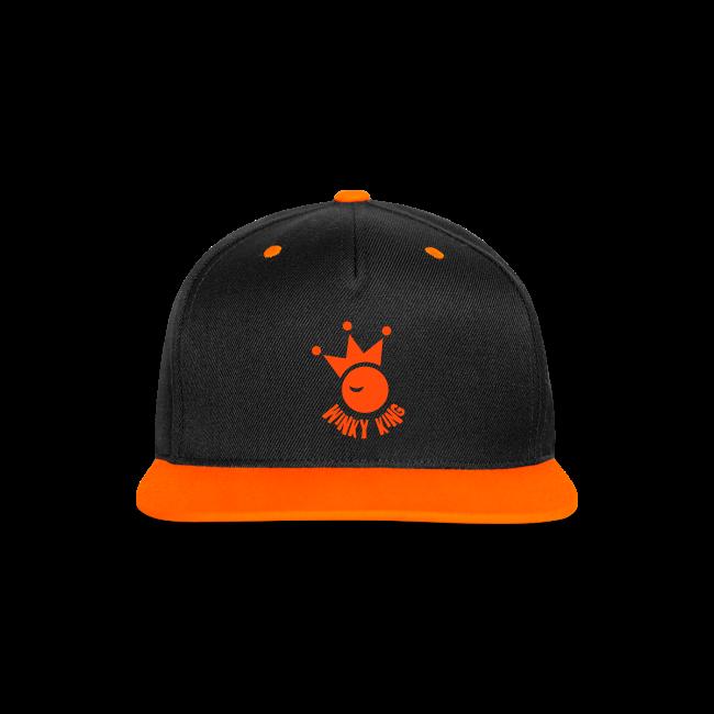 Winky King Contrast Snapback Cap