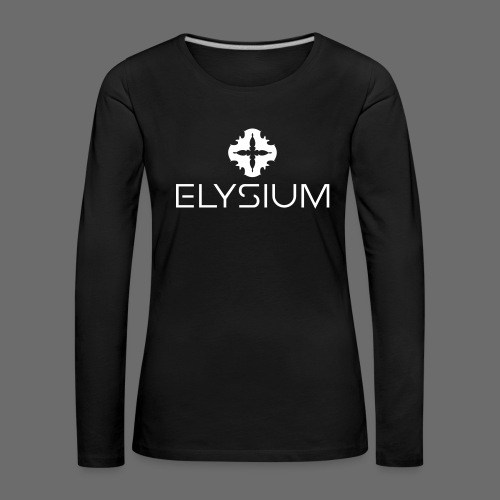Elysium Longsleeve Female Stamp down - Frauen Premium Langarmshirt