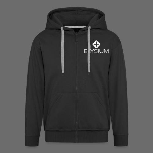 Elysium - Zipper Male - Männer Premium Kapuzenjacke