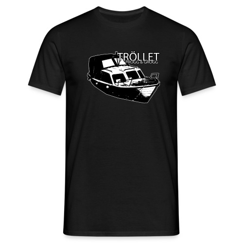 Tröllet - progg & grogg - T-shirt herr