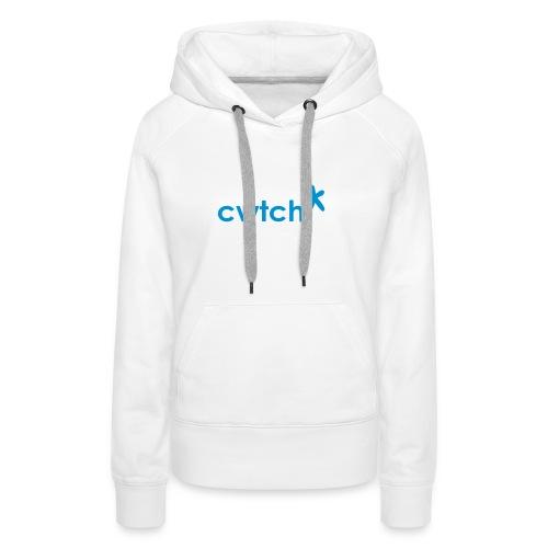 Womens hoodie small cwtch star blue - Women's Premium Hoodie