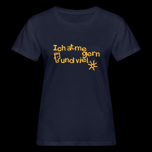 Atmen - Frauen Bio-T-Shirt