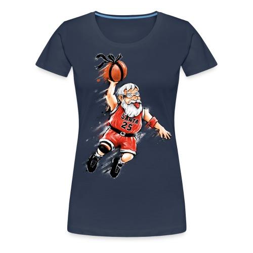 Santa Dunk - Women's Premium T-Shirt
