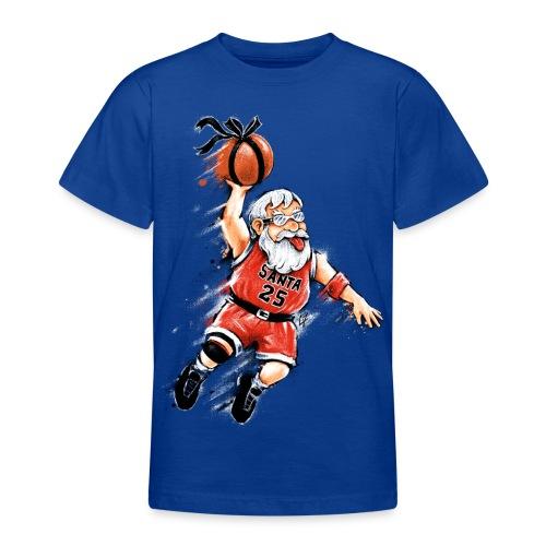 Santa Dunk - Teenage T-Shirt