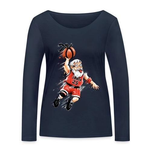 Santa Dunk - Women's Organic Longsleeve Shirt by Stanley & Stella