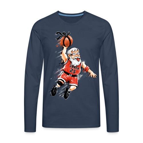 Santa Dunk - Men's Premium Longsleeve Shirt