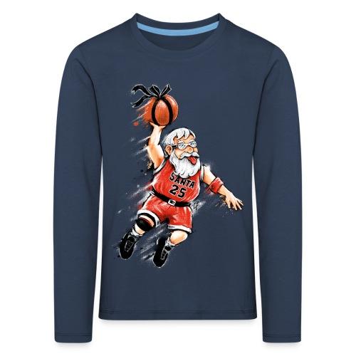 Santa Dunk - Kids' Premium Longsleeve Shirt
