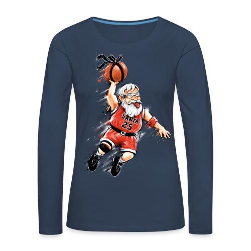 Santa Dunk - Women's Premium Longsleeve Shirt