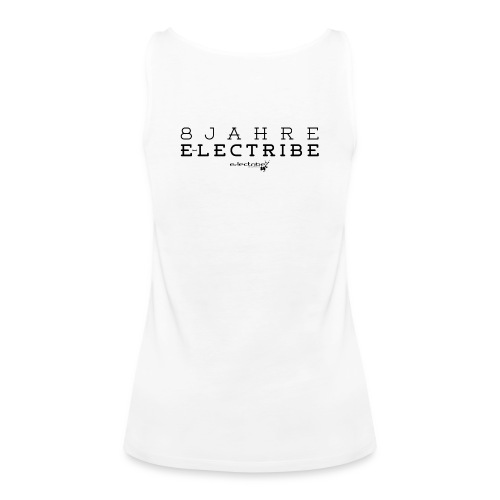 8 Jahre e-lectribe – Print back black - Frauen Premium Tank Top