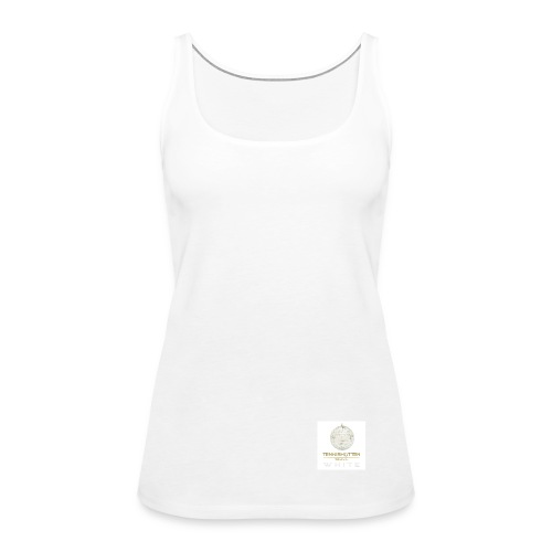 Tennishütten Revival White - Frauen Premium Tank Top