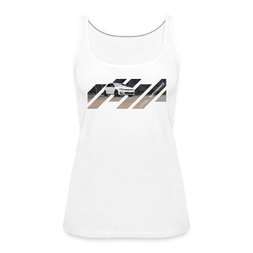 WPM GTI Design Girlie-Shirt - Frauen Premium Tank Top