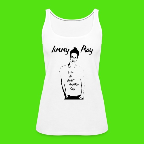Live to Fight Another Day - white'n'black - Women's Premium Tank Top - Women's Premium Tank Top