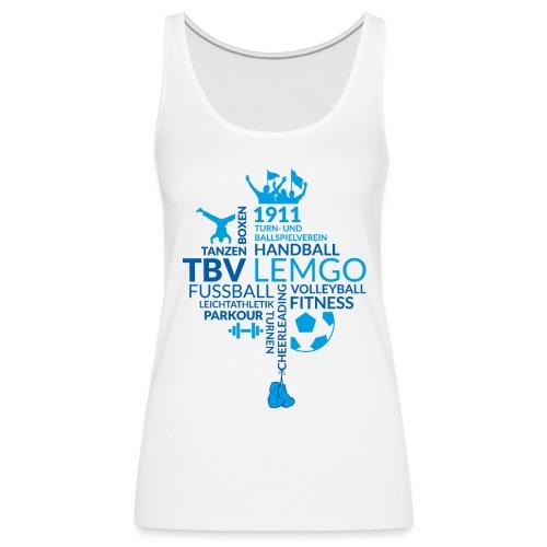 TBV Tanktop Women - Frauen Premium Tank Top