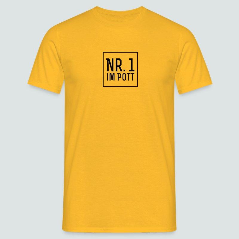 Derbysieger? Es gibt nur eine Nr. 1 im Pott - Männer T-Shirt