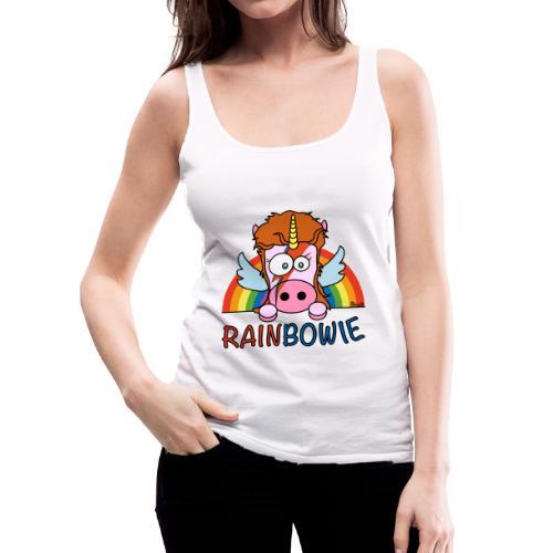 Débardeur Femme Unicorn, Licorne RainBow-ie - Débardeur Premium Femme