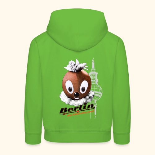 Kinder Premium Hoodie Pittiplatsch Berlin - Kinder Premium Hoodie