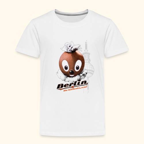 Kinder Premium T-Shirt Pittiplatsch Berlin - Kinder Premium T-Shirt
