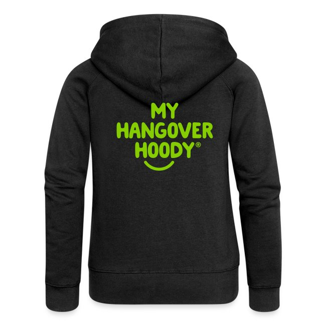 The Original My Hangover Hoody® - Black and Green