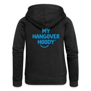 The Original My Hangover Hoody® - Black and Blue - Women's Premium Hooded Jacket