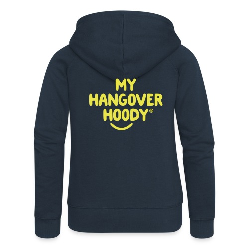 The Original My Hangover Hoody® - Blue and Yellow - Women's Premium Hooded Jacket