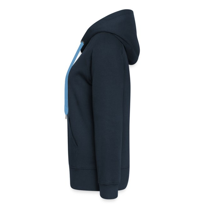The Original My Hangover Hoody® - Blue and Yellow