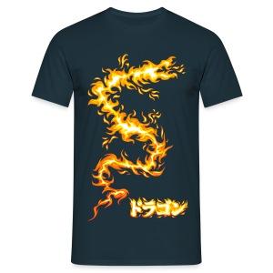 Fire dragon - Men's T-Shirt