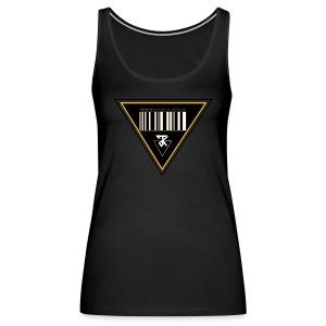 Barcode top W - Vrouwen Premium tank top