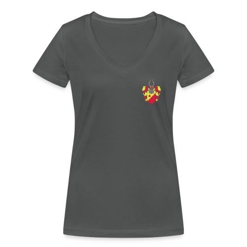V T-Shirt // Wappen + I.33 // w - Frauen Bio-T-Shirt mit V-Ausschnitt von Stanley & Stella