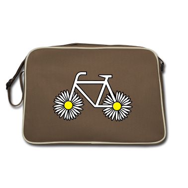 Brown / sand flower power Bags
