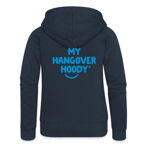 The Original My Hangover Hoody® - Blue and Blue - Women's Premium Hooded Jacket
