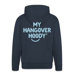 The Original My Hangover Hoody® - Blue and Sky - Men's Premium Hooded Jacket