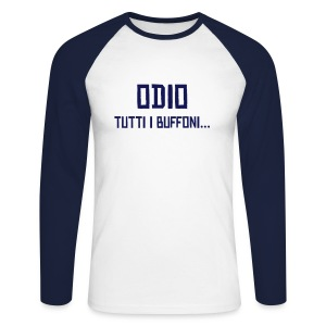 Dibe's Collection 2 - Long - Maglia da baseball a manica lunga da uomo