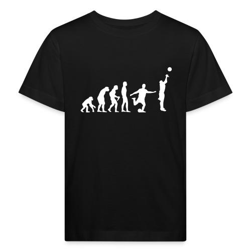 tshirt noir enfant evolution - T-shirt bio Enfant
